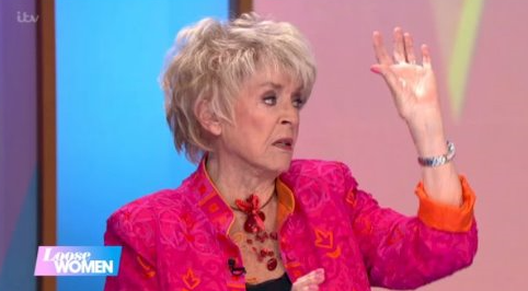 "Gloria Hunniford has Loose Women viewers in hysterics with ""one-hand job"" gaffe"