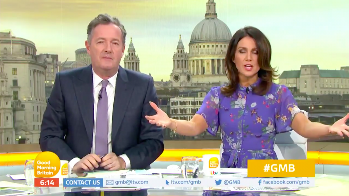 Good Morning Britain crew get revenge on Piers Morgan as they take him OFF AIR