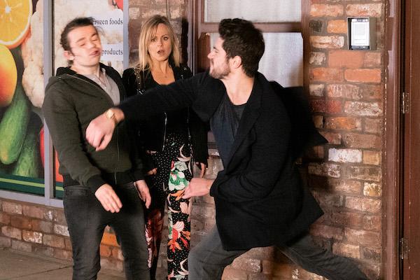 Coronation Street Shocking Affair For Seb And Sarah