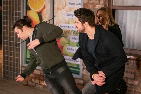 Coronation Street SPOILER: Adam attacks Seb