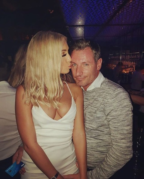 Dean Gaffney and Rebekah Ward (Credit: Instagram @deangaffney1)