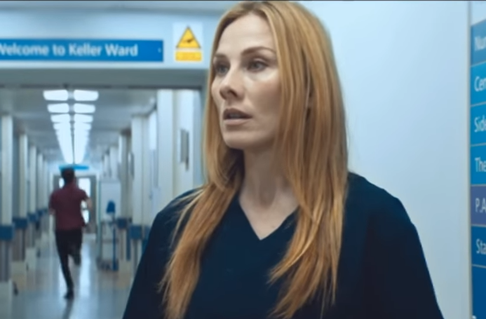 Rosie Marcel operated on her husband using skills she picked up on Holby!