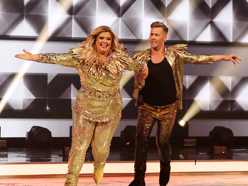 Bookies slash odds on Gemma Collins being a no-show for Dancing On Ice