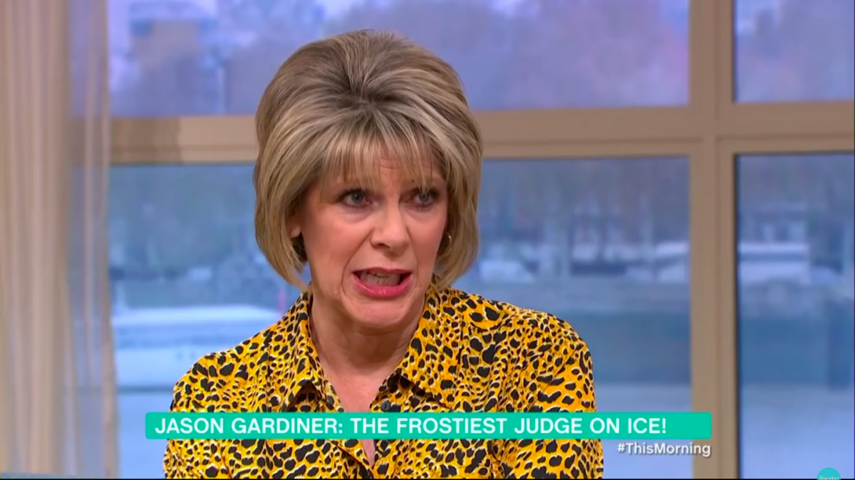 Ruth Langsford tells Jason Gardiner HE is the reason she turned down Dancing On Ice