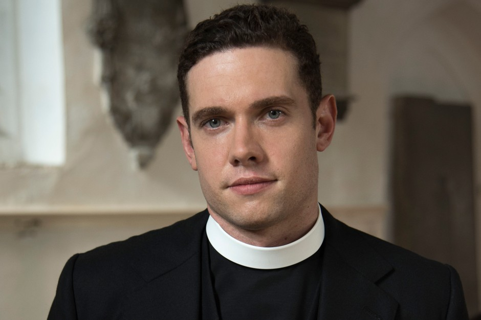GRANTCHESTER Series 4 Episode 1 Pictured: TOM BRITTNEY as Rev. Will Davenport.