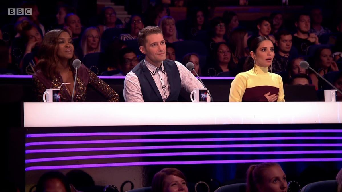 Oti Mabuse Matthew Morrison Cheryl Greatest Dancer WENN