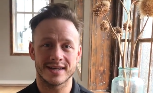 Strictly's Kevin Clifton thanks singing coach ahead of Rock Of Ages