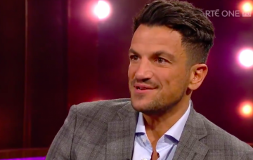 peter andre (Credit: RTERayDarcyShow Twitter)