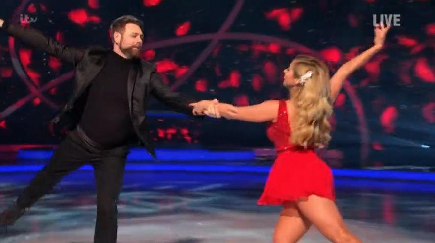Brian McFadden overcomes dislocated shoulder to thrill Dancing On Ice fans