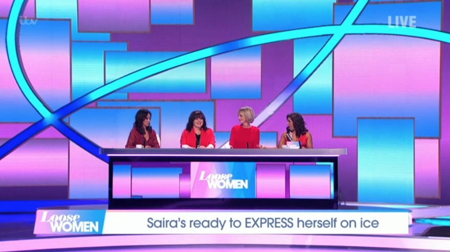 Dancing On Ice fans baffled as Loose Women replace the judges