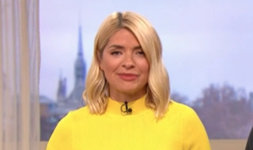 Holly Willoughby sends sweet message from her sick bed