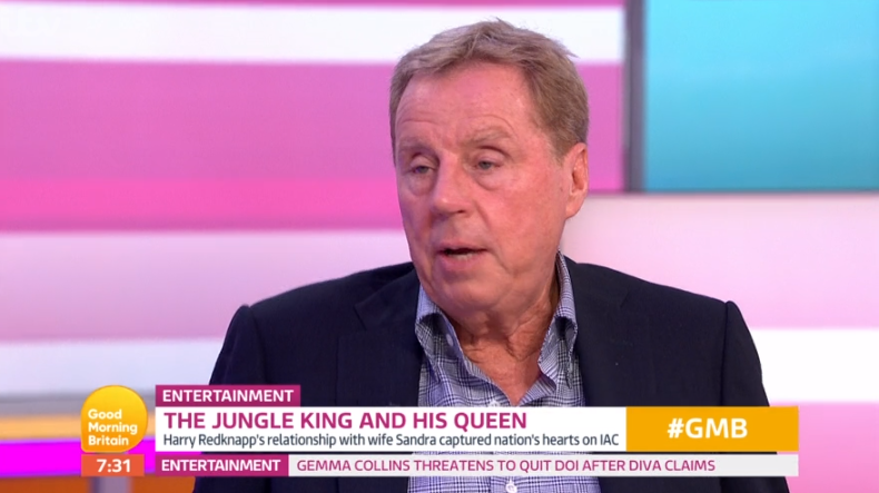 Harry Redknapp hints at reason behind son Jamie's split from ex-wife
