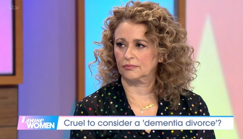 Nadia Sawalha makes heartbreaking confession to Loose Women co-stars