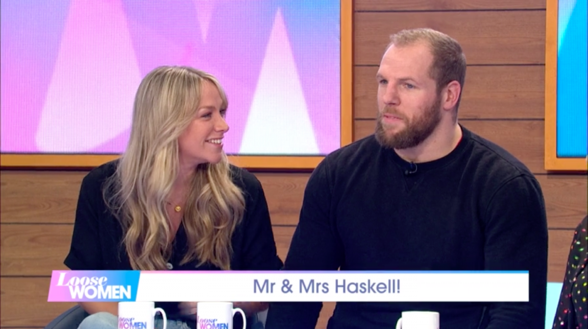 "Chloe Madeley admits dad Richard ""swears a lot"" at her new husband"