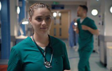 Chelsea Halfpenny as Alicia Munroe in Casualty