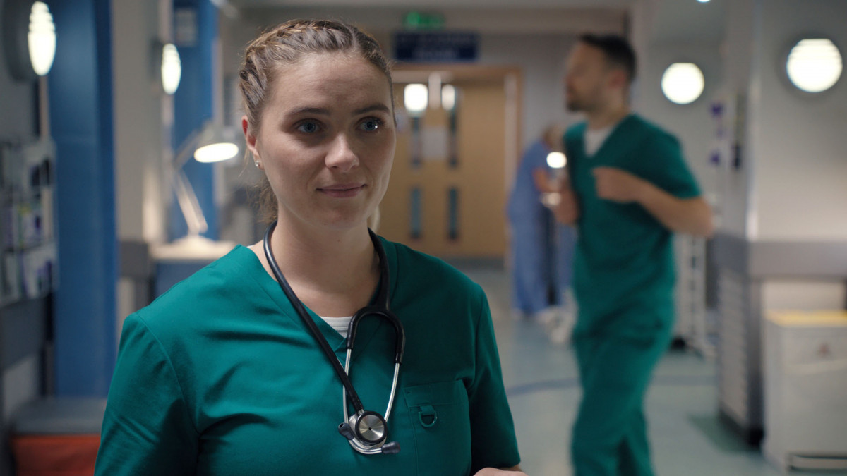 Former Casualty actress Chelsea Halfpenny looks unrecognisable in new stage role