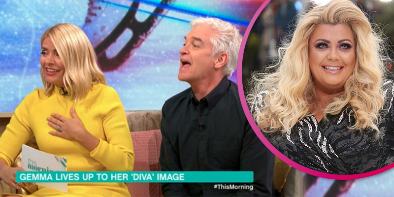 Gemma Threatens To Quit 'Dancing On Ice' Over Holly's Comments