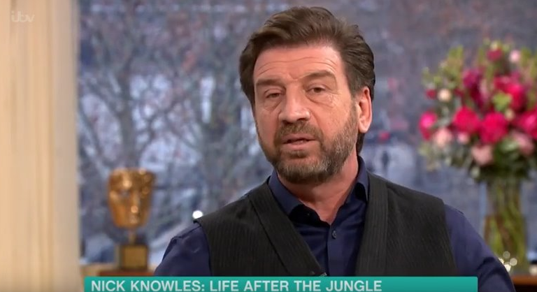 Nick Knowles claims I'm A Celeb producers 'forced' him to play guitar in the jungle