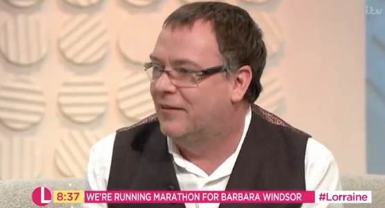 EastEnders' Adam Woodyatt's marathon training has been put on hold