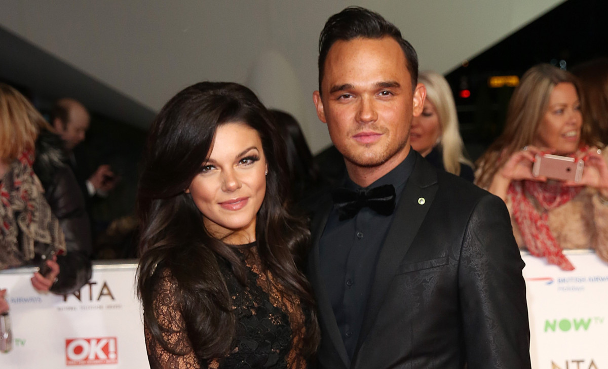 Corrie's Faye Brookes and Gareth Gates 'engaged' months after shock split