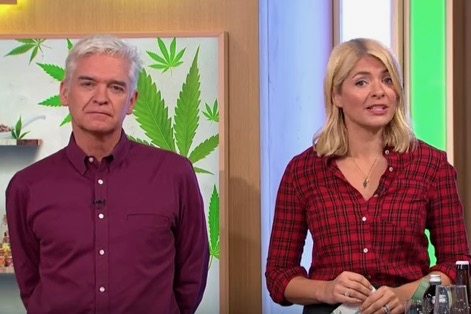 Phillip Schofield eats cannabis on This Morning and panics that he's high