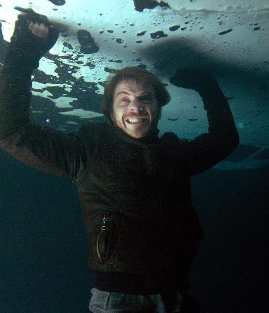 Sean Slater frozen lake