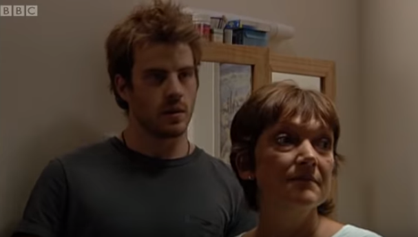 "EastEnders' Rob Kazinsky and Gillian Wright's on-screen chemistry is ""transfixing"""