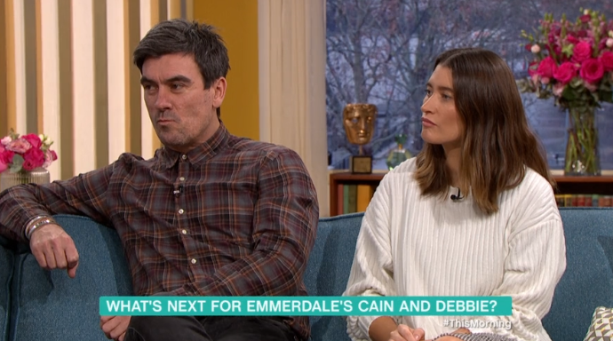 Emmerdale's Jeff Hordley in trouble for laughing during serious scenes