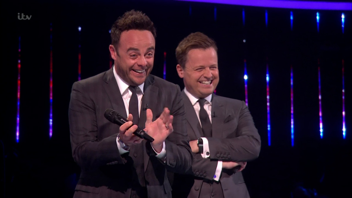 Ant McPartlin gets emotional on BGT stage as he returns with Dec Donnelly