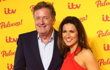 Piers Morgan and Susanna Reid at The ITV Palooza! 2018