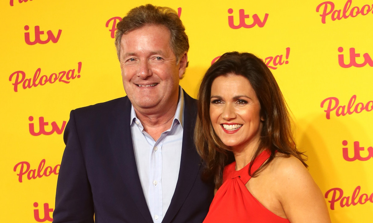 Piers Morgan thinks he's responsible for Susanna Reid's new romance