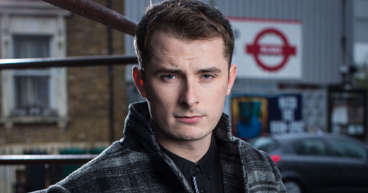 Max Bowden as Ben Mitchell EastEnders Credit: BBC