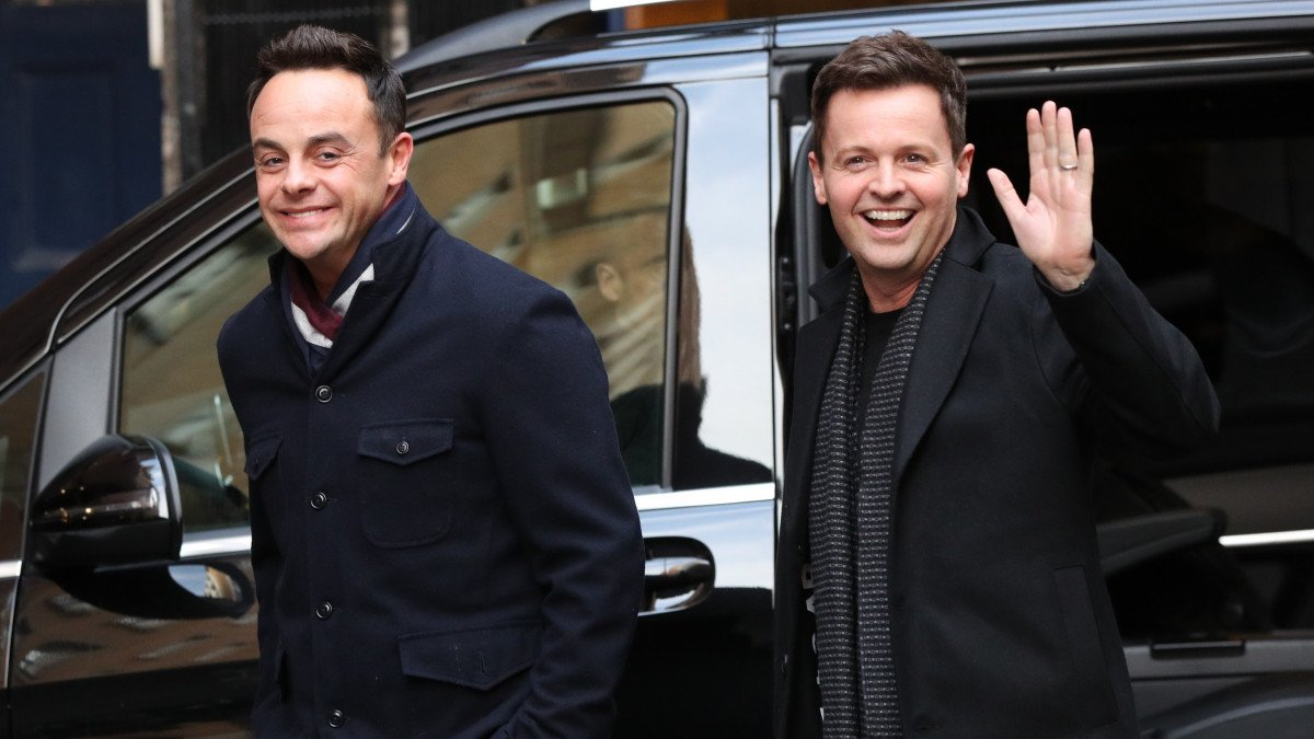 Ant and Dec will NOT attend this week's National Television Awards