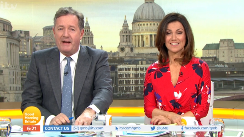 Piers Morgan accuses Jason Gardiner of 'body-shaming' Gemma Collins