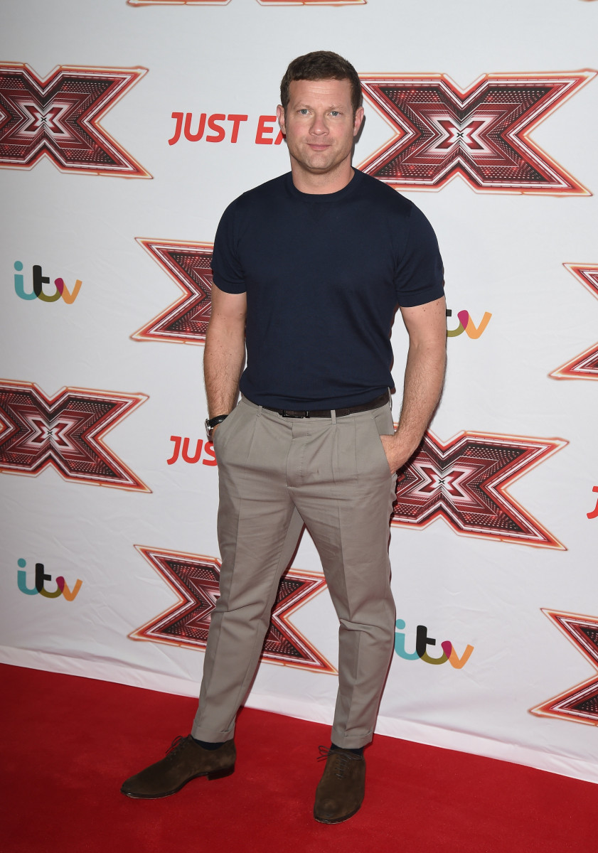 Dermot O Leary Seen Arriving At The X Factor Launch In London