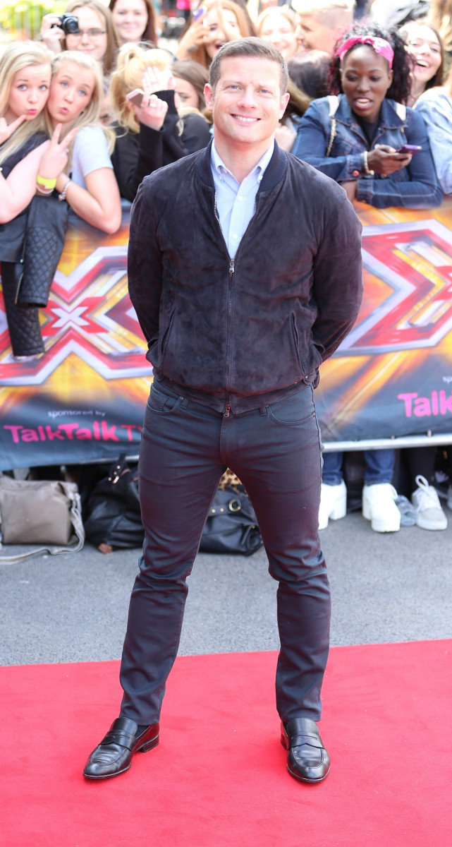 Dermot O'Leary Arrives At The X Factor Auditions In Manchester