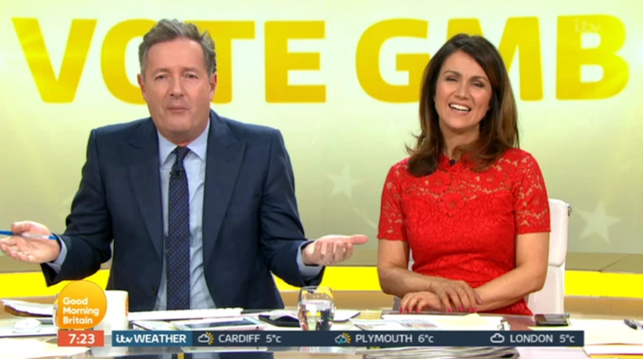 Piers Morgan takes ANOTHER swipe at Ant McPartlin over NTAs nomination