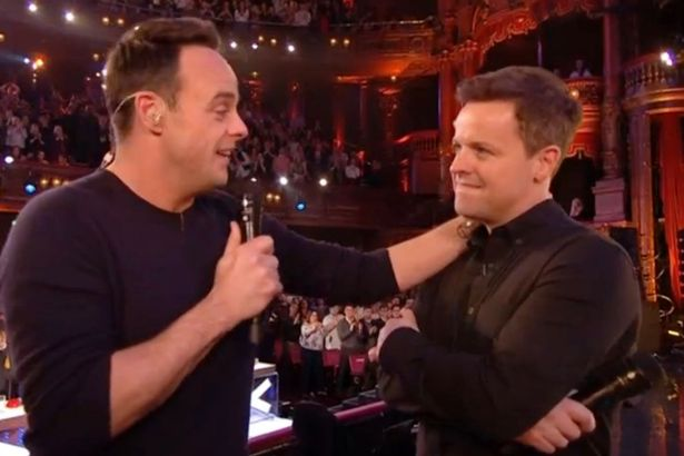 """Ant McPartlin, Declan Donnelly (Credit"""" ITV)"""