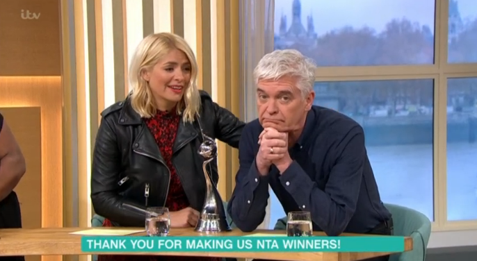 Holly and Phil This Morning Hungover ITV