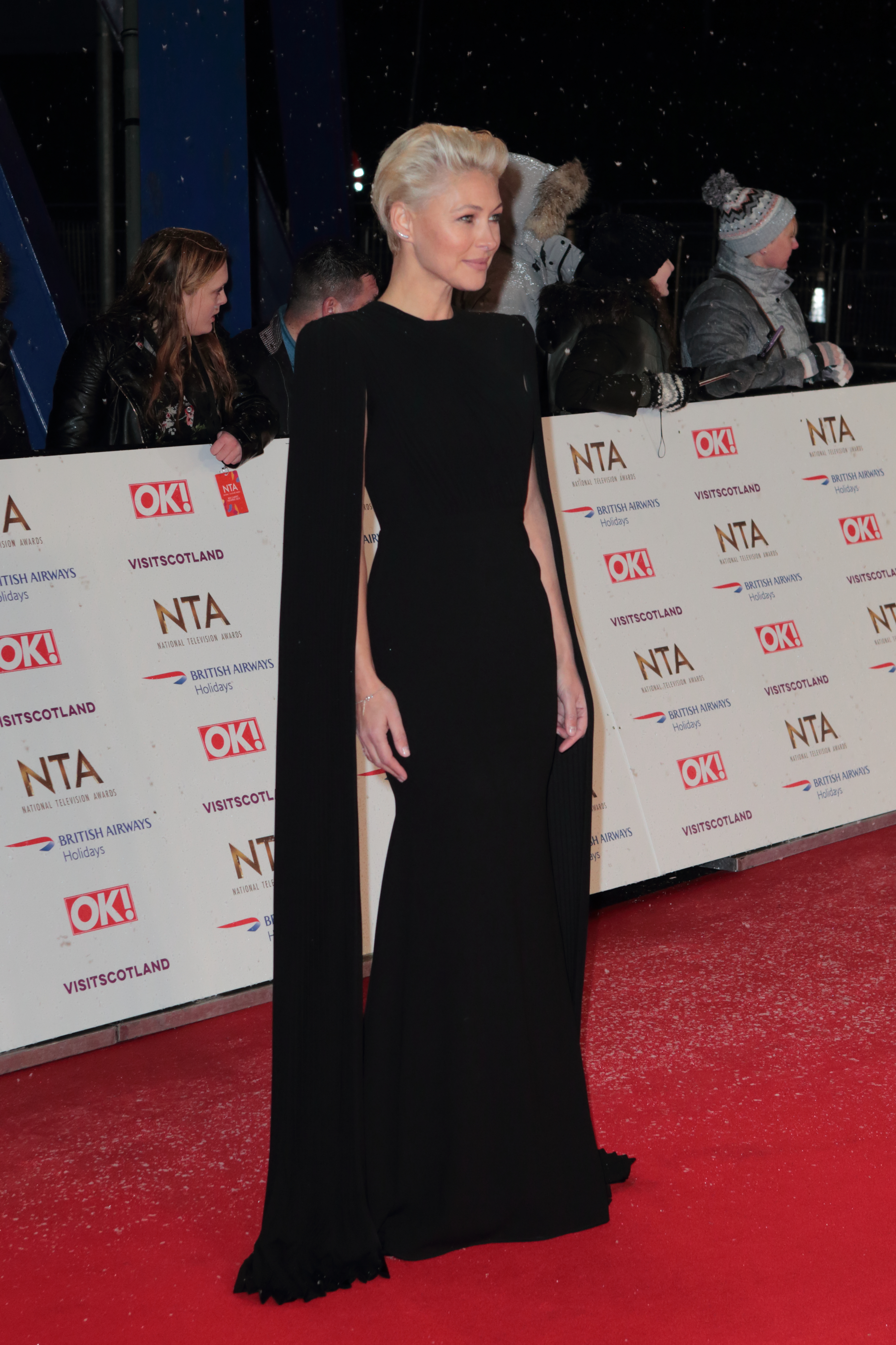 National Television Awards 2019 Red Carpet Arrivals London O2 Greenwich Pictured: Emma Willis Ref: SPL5057189 220119 NON-EXCLUSIVE Picture by: Grant Buchanan / SplashNews.com Splash News and Pictures Los Angeles: 310-821-2666 New York: 212-619-2666 London: 0207 644 7656 Milan: 02 4399 8577 photodesk@splashnews.com World Rights