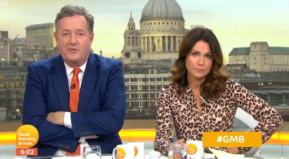 GMB fans furious as Piers Morgan and Susanna Reid take three weeks off