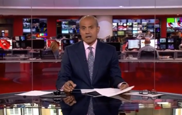 George Alagiah BBC News Credit: BBC/YouTube