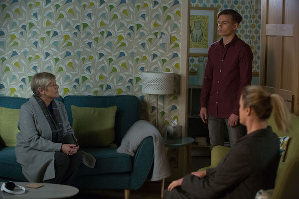 EastEnders SPOILER: Hunter caught out by the police