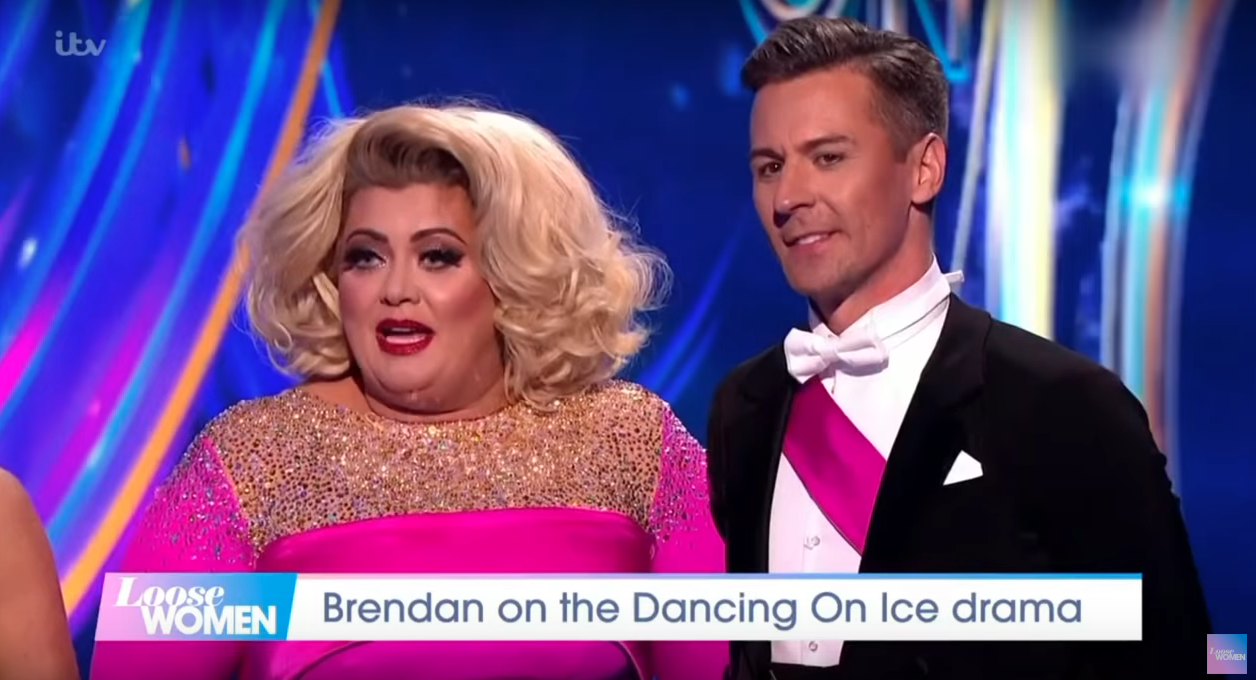 Gemma Collins left in tears after nasty fall on Dancing on Ice