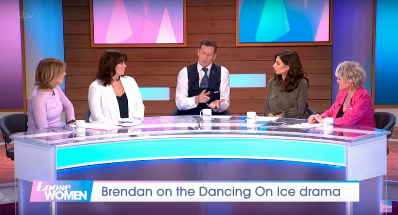 Gemma Collins suffers dramatic tumble on Dancing On Ice