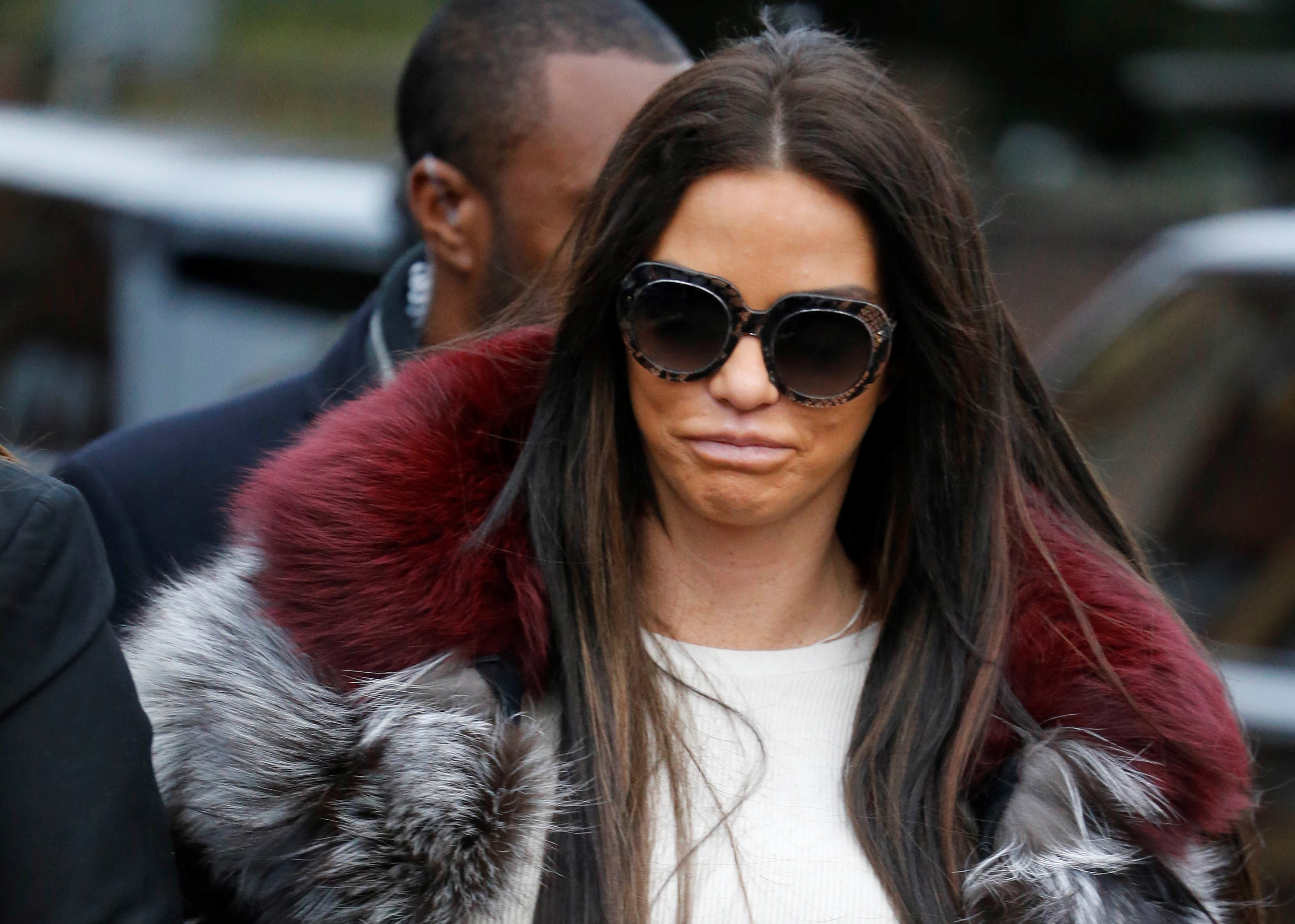 "Katie Price insists she is ""not bankrupt"""