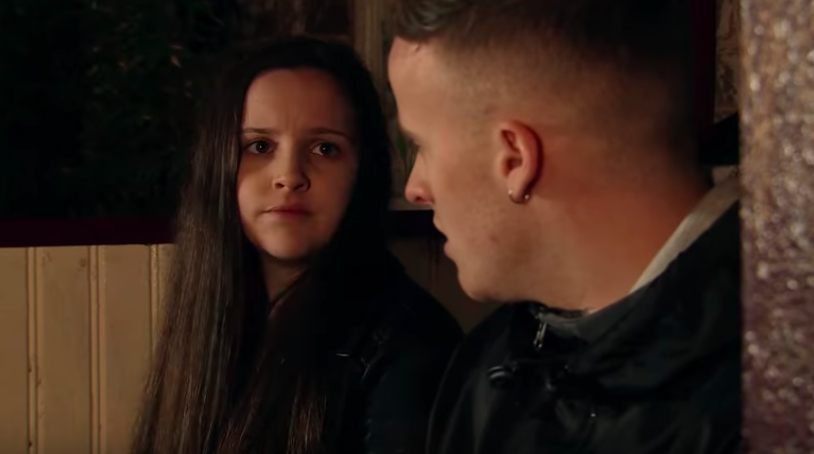 Corrie fans' horror as Tyler revealed as Amy Barlow's baby daddy