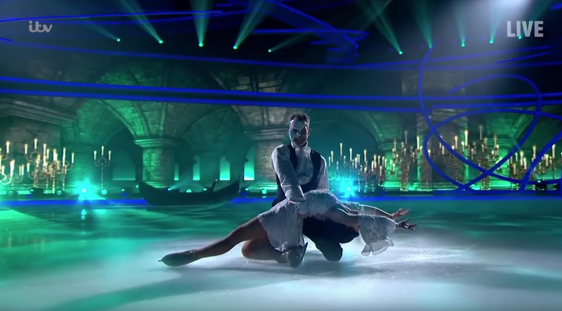 James Jordan Dancing on Ice ITV