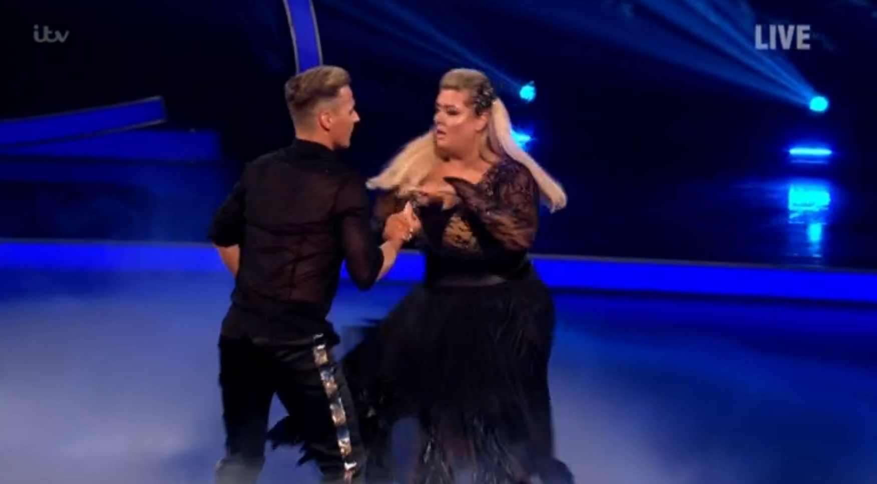 Gemma Collins Now Using Her Mum's Wheelchair After Dancing On Ice Fall