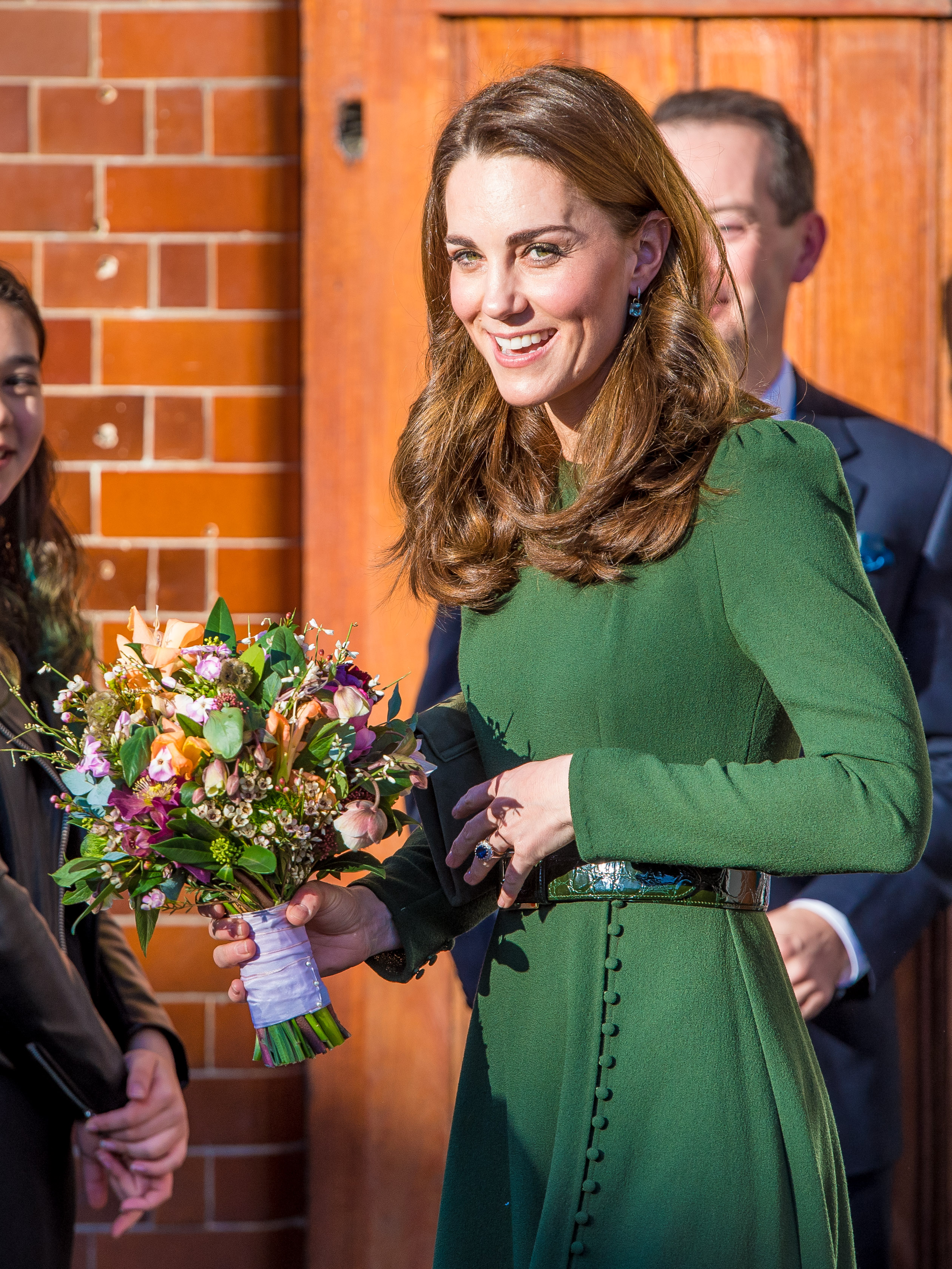 Catherine, Duchess of Cambridge Visits Family Action In London